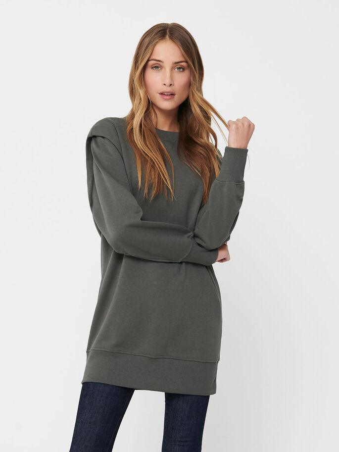 LANG SWEATSHIRT, Dark Grey, large