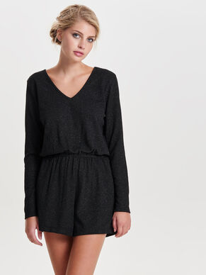 LONG SLEEVED PLAYSUIT
