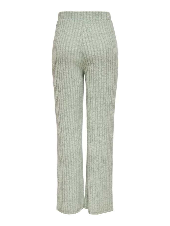 WIDE FITTED RIB TROUSERS, Balsam Green, large
