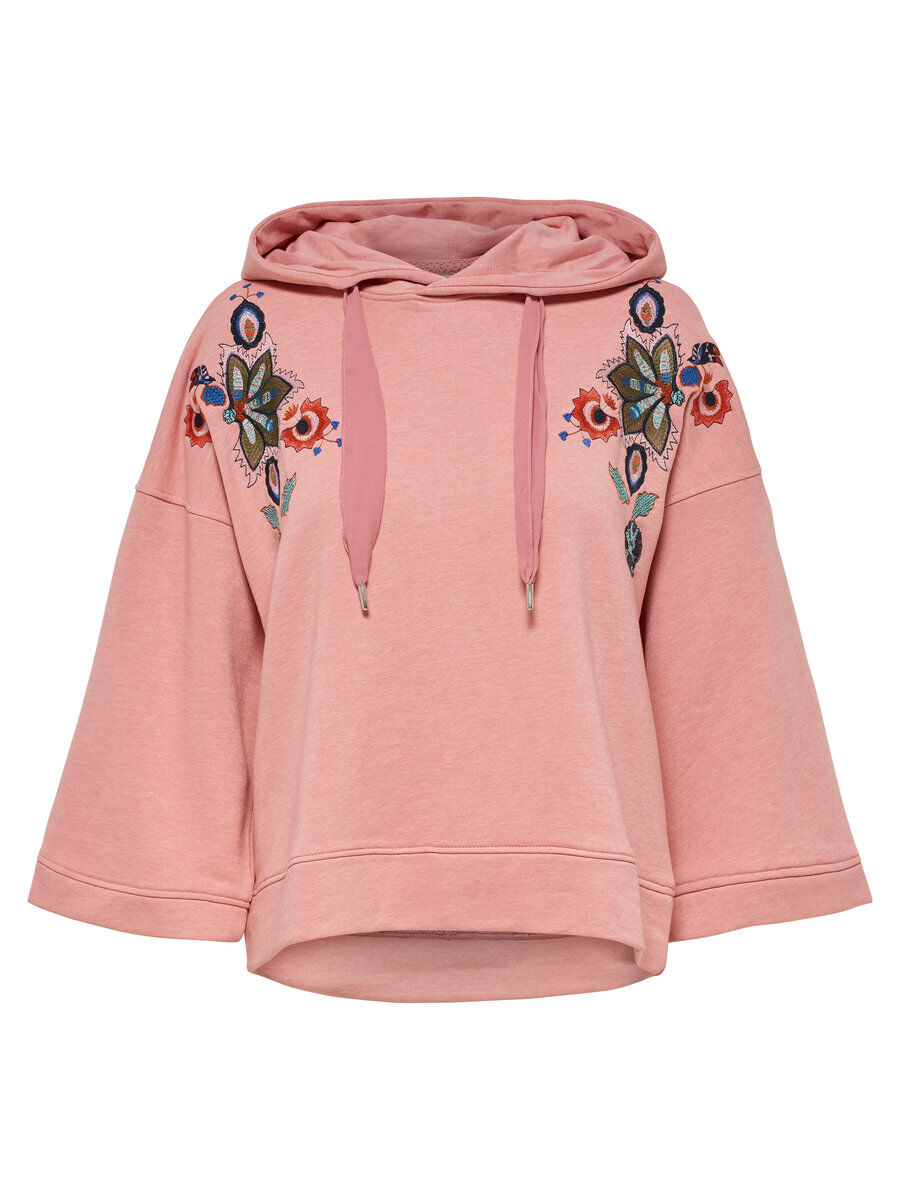 Only Loose Sweatshirt Women Pink Footaction Online Manchester Cheap Price Cheapest Price Sale Online 6zGIRFle