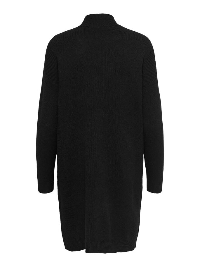 COUPE AMPLE ROBE EN MAILLE, Black, large