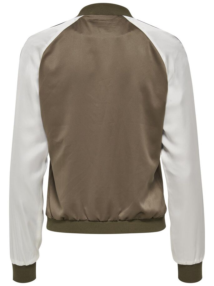 SATIN BOMBER JACKET, Tarmac, large
