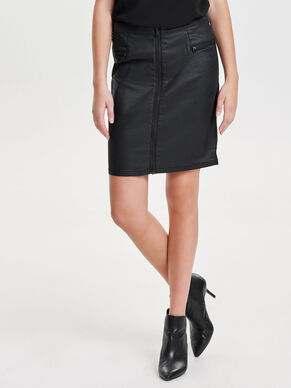 COATED SKIRT