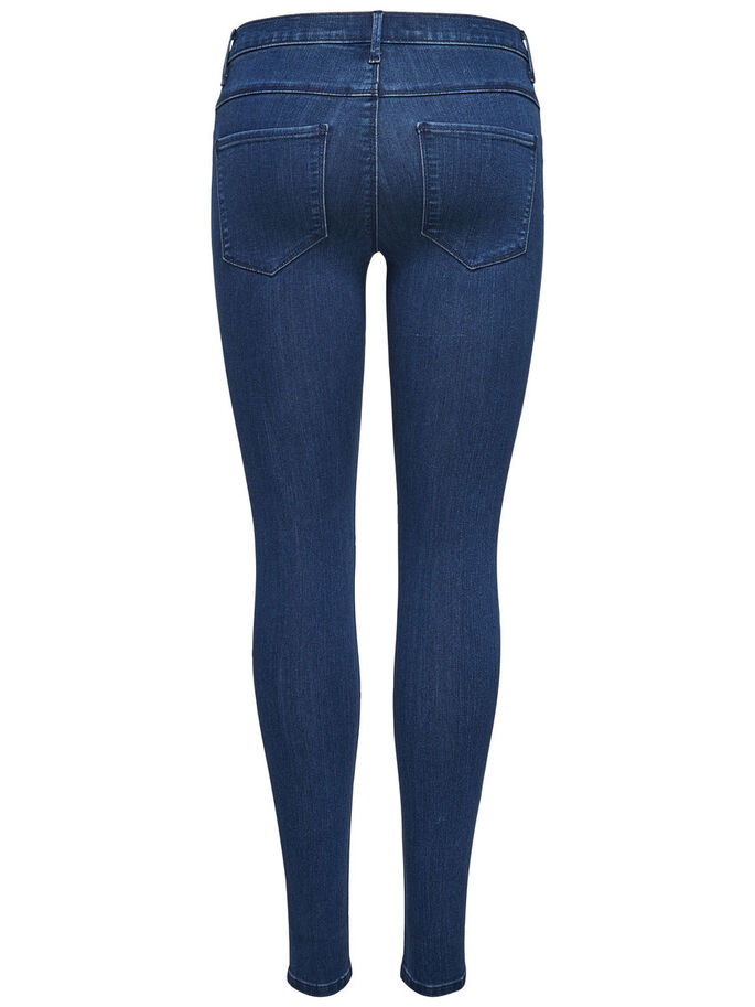 RAIN REG SKINNY FIT JEANS, Medium Blue Denim, large