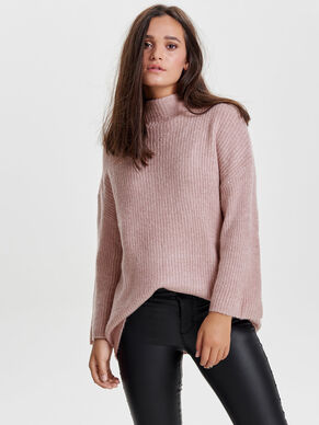 COL MONTANT PULL EN MAILLE