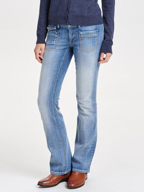 EBBA LOW BOOTCUT-JEANS