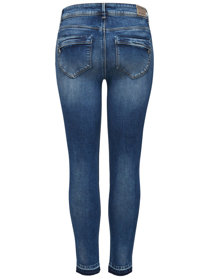 CARMEN REG ANKLE SKINNY FIT JEANS, Medium Blue Denim, large