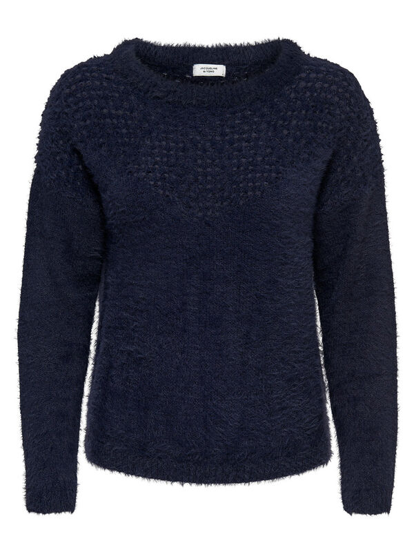 ONLY - only detailed knitted pullover  - 1