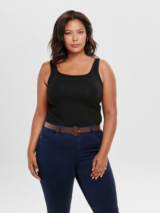 CURVY BASIC TANK TOP