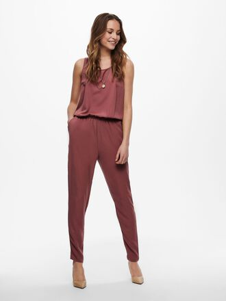 SOLID COLORED JUMPSUIT