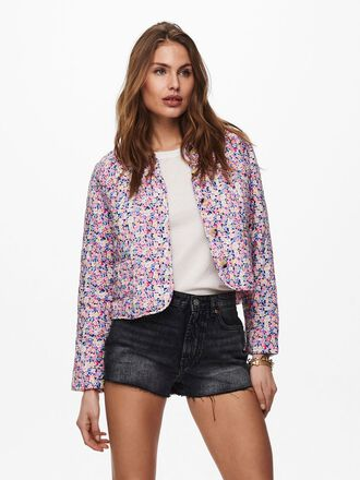 SHORT PRINTED JACKET
