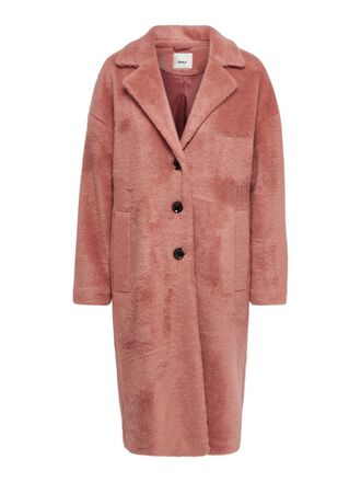 LONG SOLID COLORED COAT