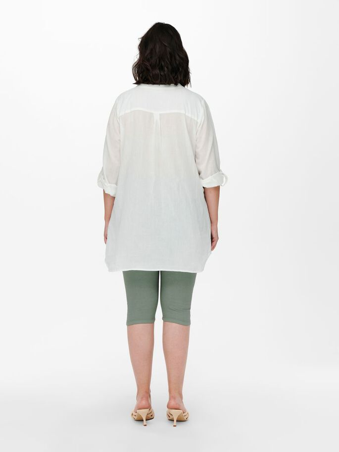 CURVY LOOSE FITTED TUNIC, Cloud Dancer, large