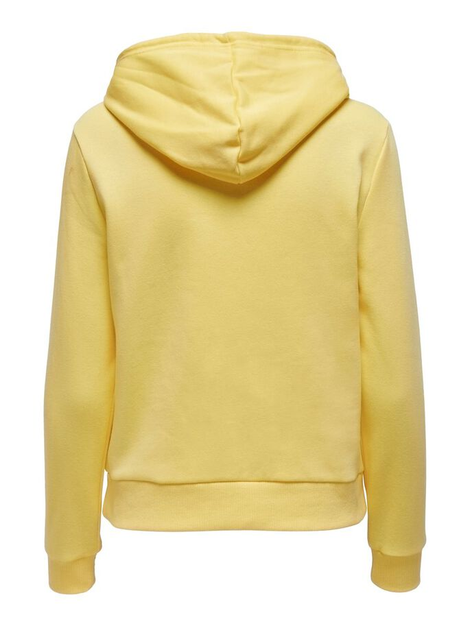 SOLID COLORED HOODIE, Dusky Citron, large