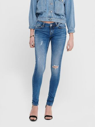 ONLCORAL SUPERLOW SKINNY FIT JEANS