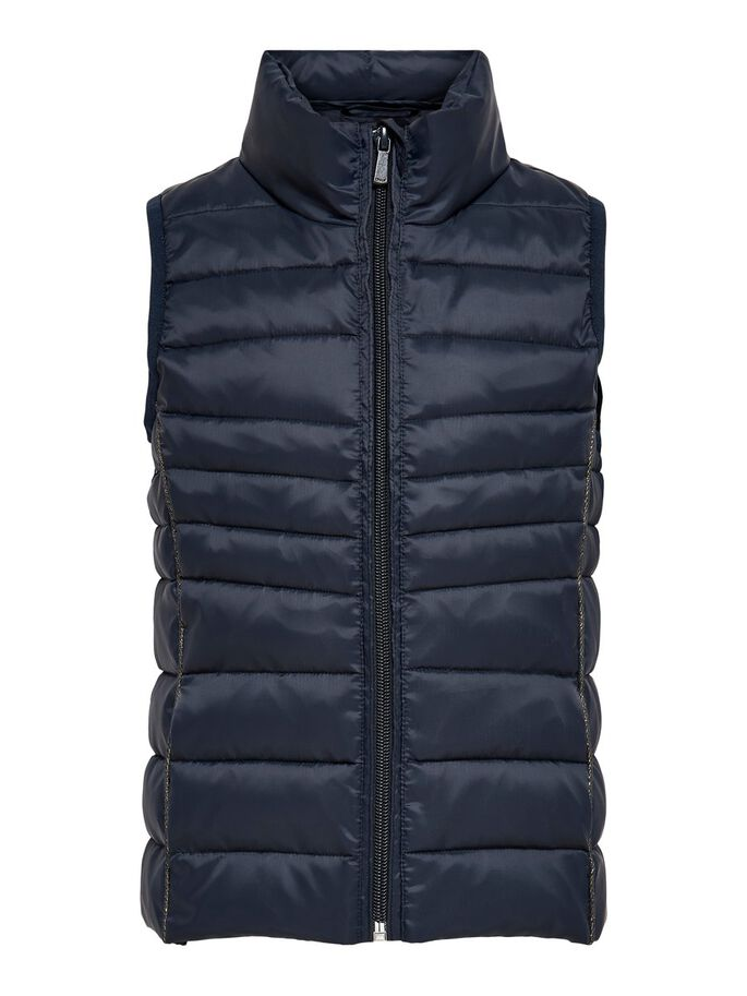 QUILTED WAISTCOAT, Night Sky, large