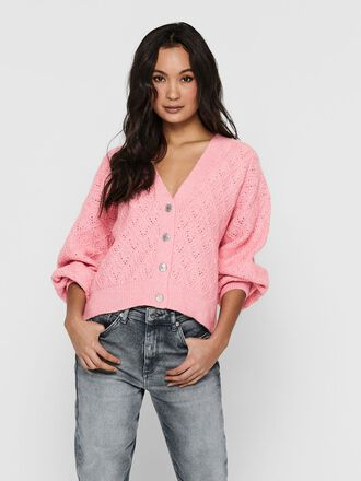 TEXTURE KNITTED CARDIGAN