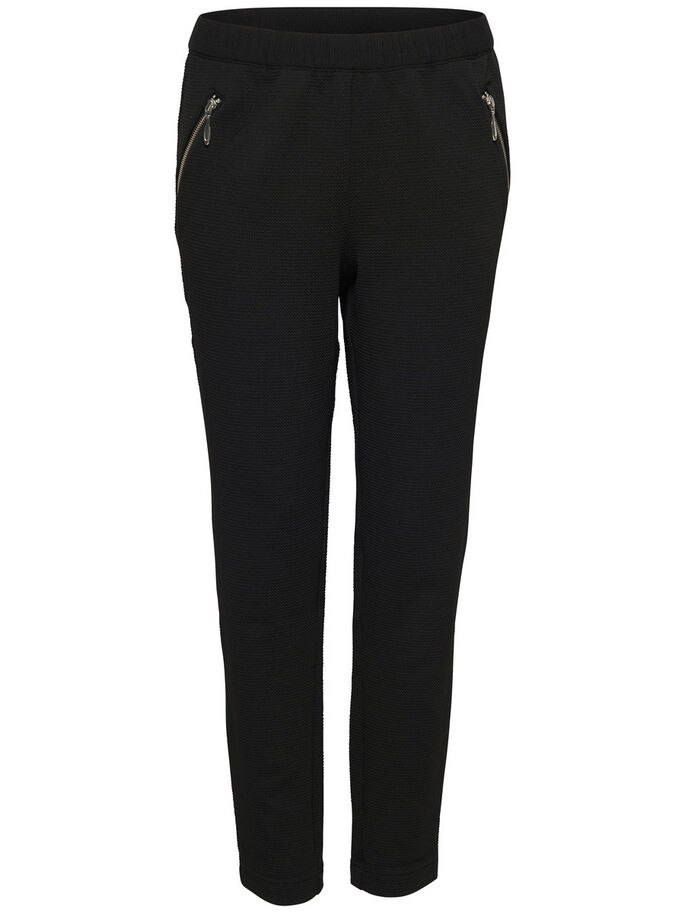 AMPLE PANTALON, Black, large