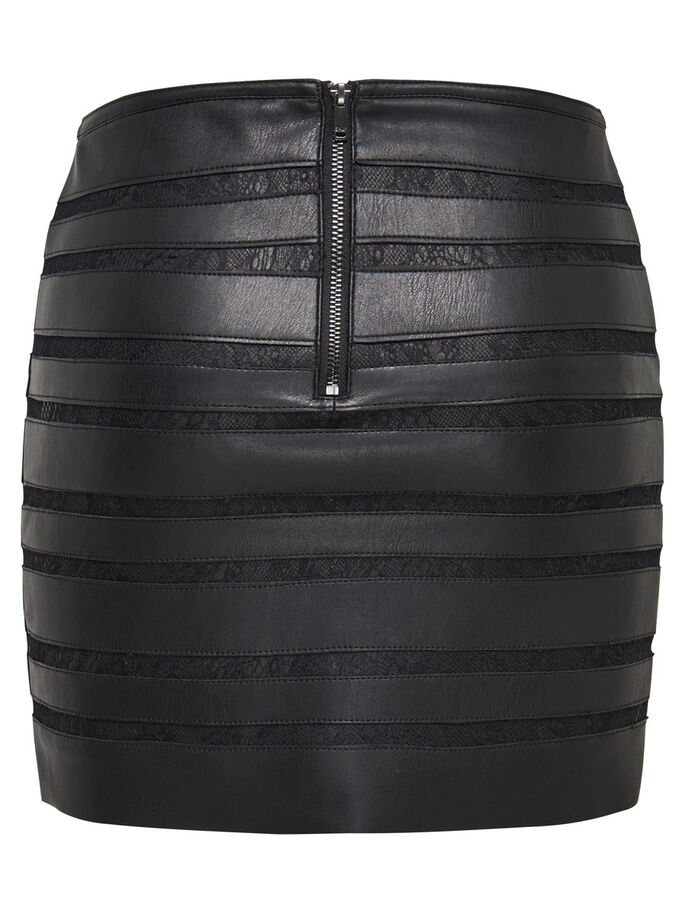 LEDERLOOK- ROCK, Black, large