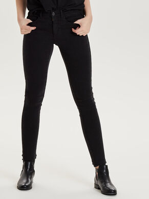 ROYAL DELUXE BLACK SKINNY FIT JEANS