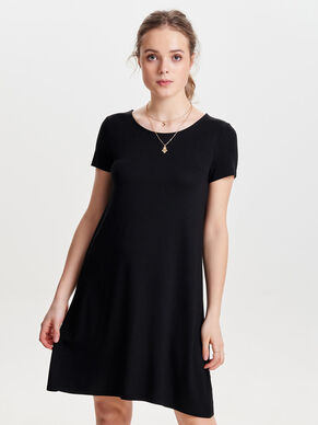 LOOSE SHORT SLEEVED DRESS