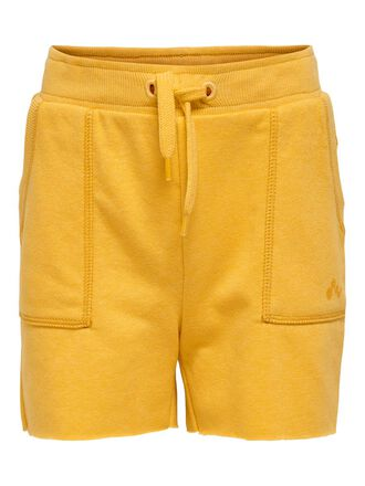 SOLID COLORED SWEAT SHORTS