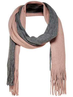 CONTRAST SCARF