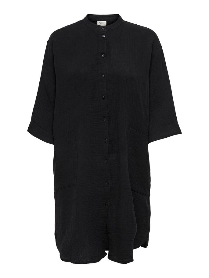 OVERSIZED SHIRT, Black, large