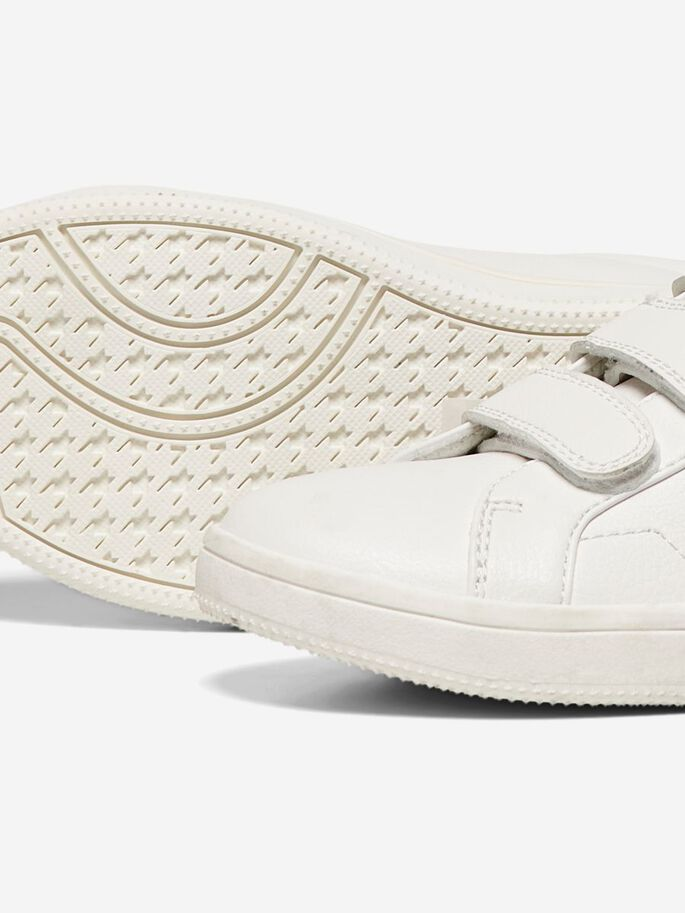 VELCRO SNEAKERS, White, large