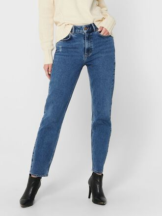 JDYKAJA LIFE HIGH ANKLE STRAIGHT FIT JEANS
