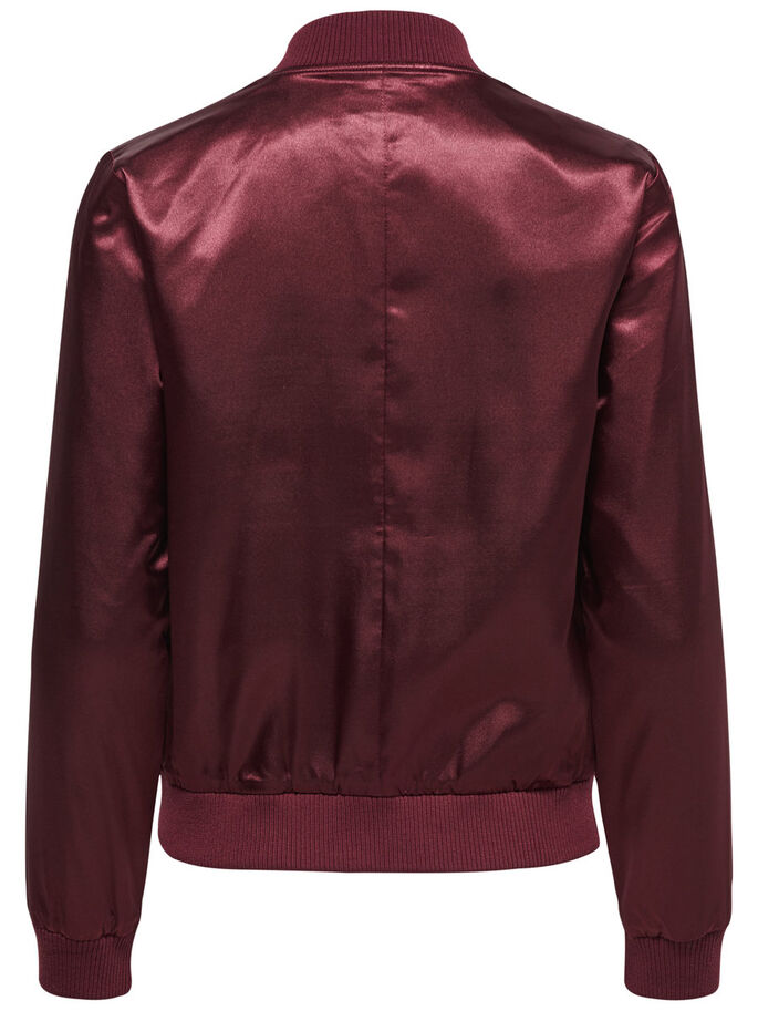 SHINY BOMBER JACKET, Winetasting, large