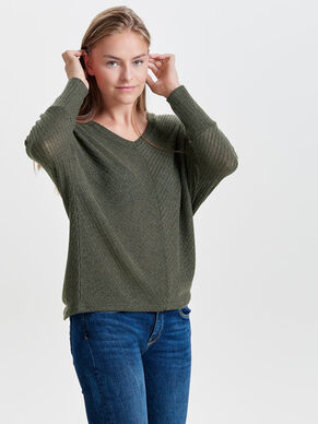 BATWING- STRICKPULLOVER