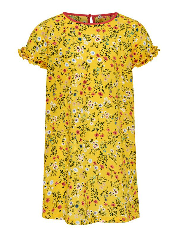 ONLY - only kids only printed short sleeved dress  - 1