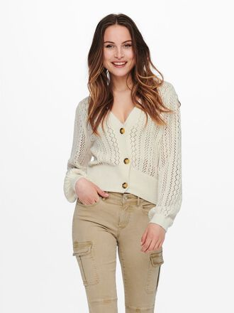 DETAILED KNITTED CARDIGAN