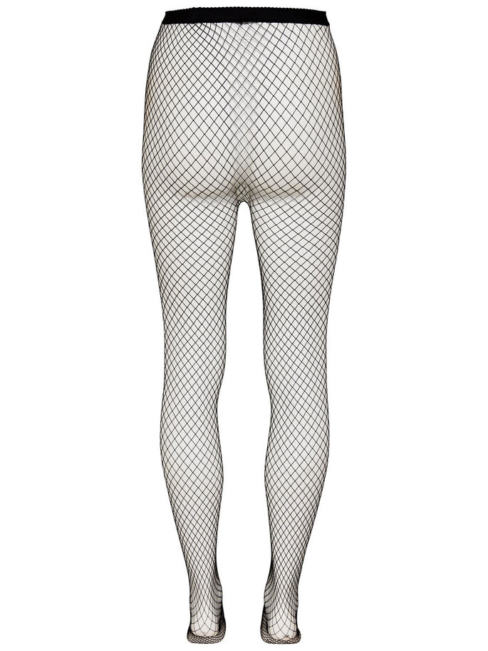 NETZ- TIGHTS, Black, large