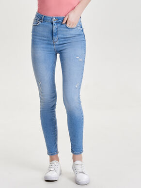 STUDIO HIGH WAIST ANKLE SKINNY JEANS