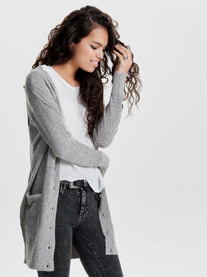 HEART KNITTED CARDIGAN