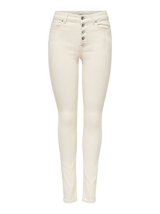 ONLBLUSH HW BUTTON SKINNY FIT JEANS