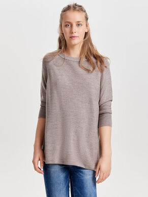 LOOSE FIT TOP MANCHES 3/4