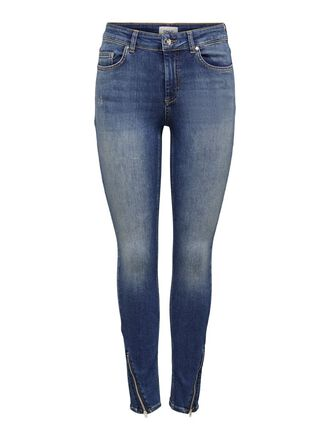 ONLBLUSH LIFE MID ANKLE ZIP SKINNY JEANS