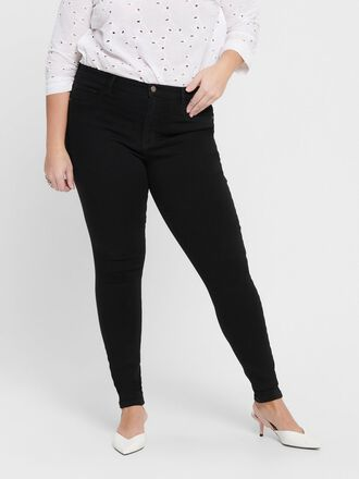 CURVY CARSTORM PUSH HW SKINNY FIT JEANS