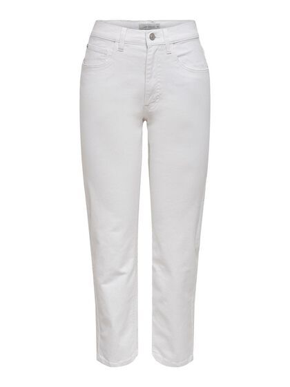 JDYOLIVIA LIFE HIGH WAIST ANKLE STRAIGHT FIT JEANS