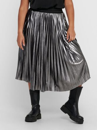 CURVY PLEATED SKIRT