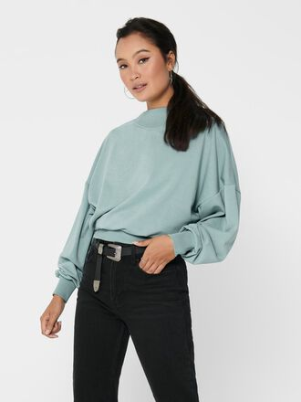SOLID COLORED SWEATSHIRT