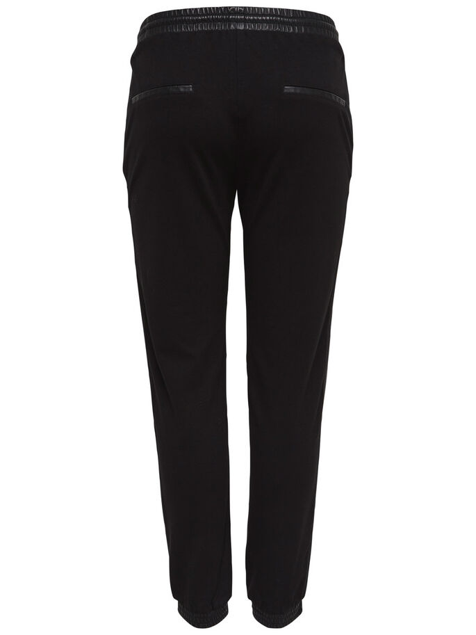 LØSE TROUSERS, Black, large