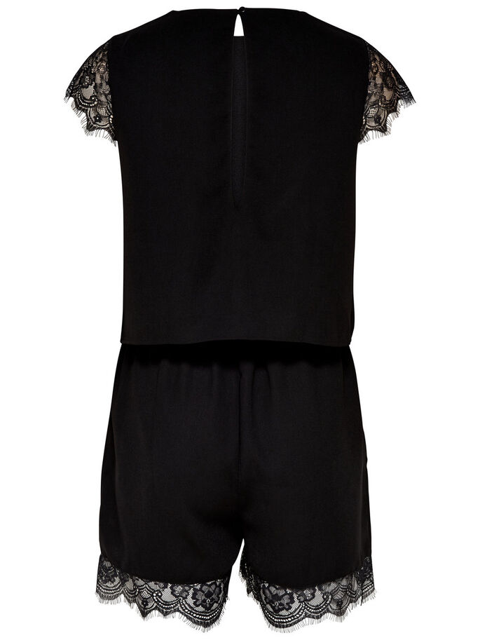 SLEEVELESS PLAYSUIT, Black, large