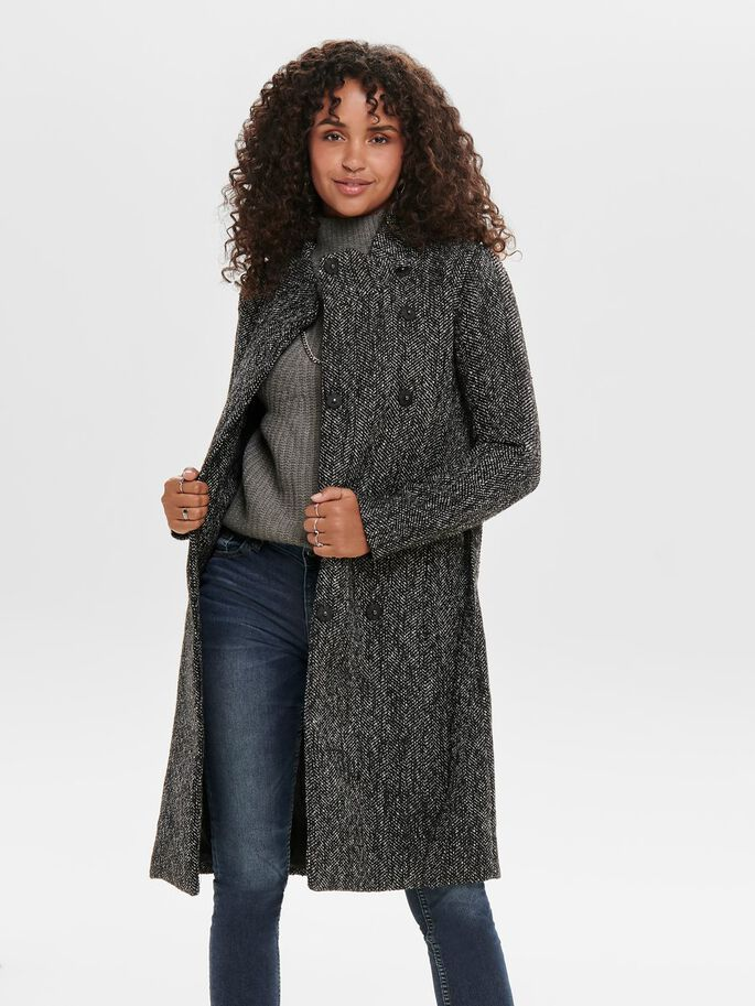 wool coat only