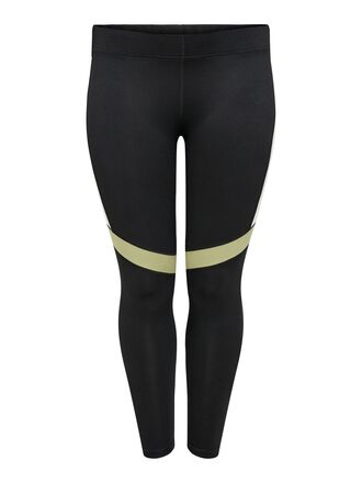 CURVY PRINTED TRAINING TIGHTS