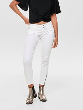 35a088fd709 Normal waist jeans fra ONLY - Køb ONLY normal waist jeans til ...