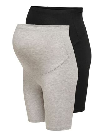 MAMA BASIC 2-PACK BIKE SHORTS